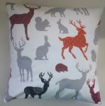 Cushion Cover Made in Next Stag and Woodland Animals